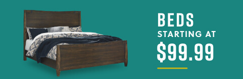 Beds starting at $89.99