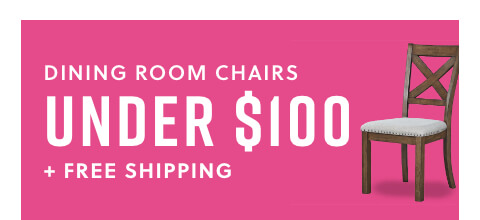 Dining Room Chairs Under $100 + Free Shipping