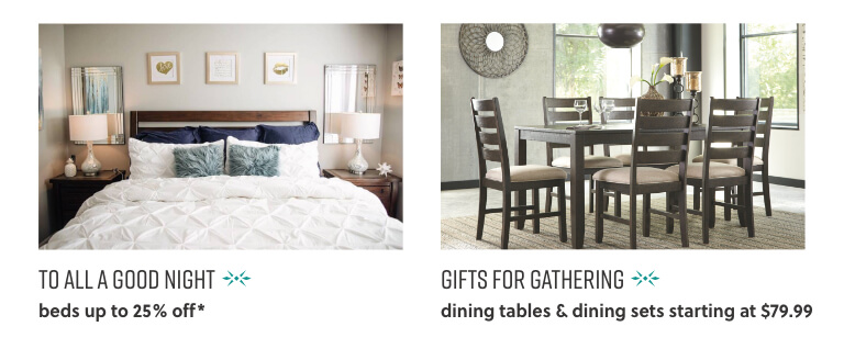 Beds, Dining Tables, Dining Sets
