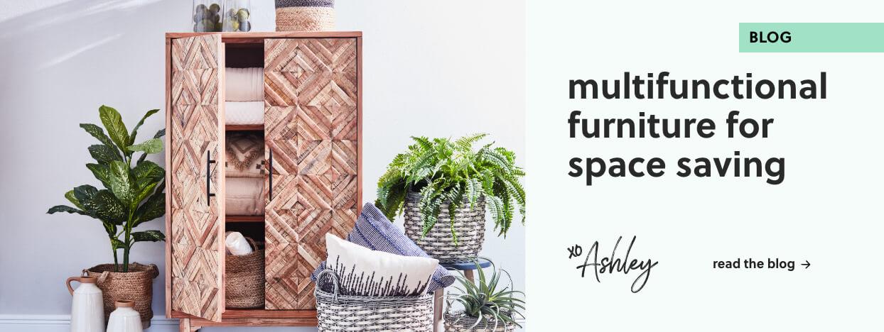 multifunctional furniture for space saving
