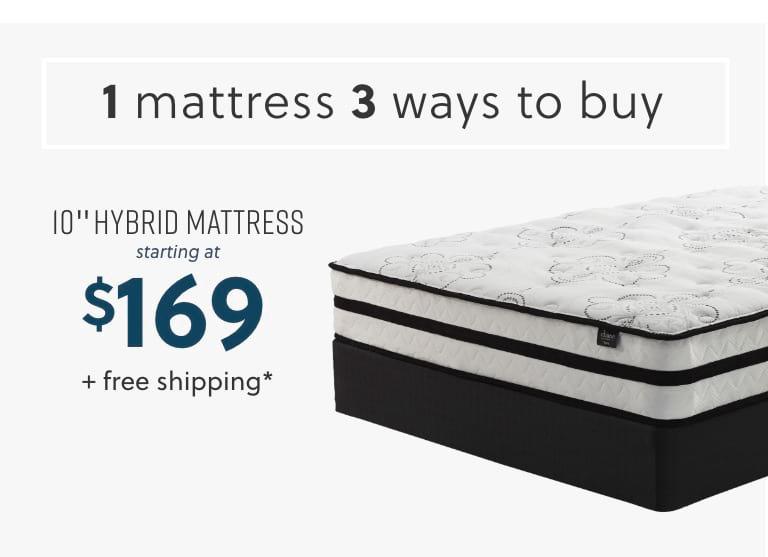 10 inch Hybrid Mattress