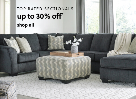 Top Rated Sectionals up to 30% Off**
