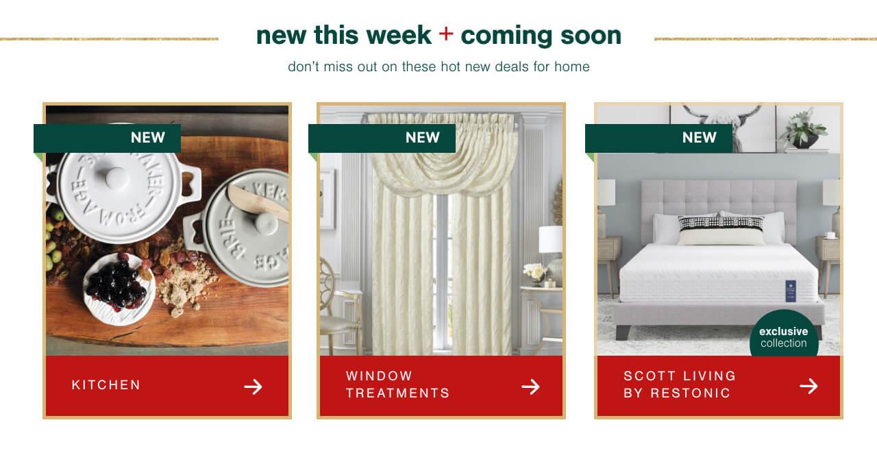 Kitchen, Window Treatments, Scott Living by Restonic