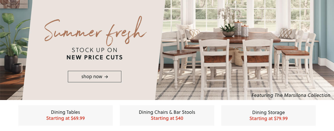 Dining Room Collections, Bar Stools, Dining Buffets and Servers