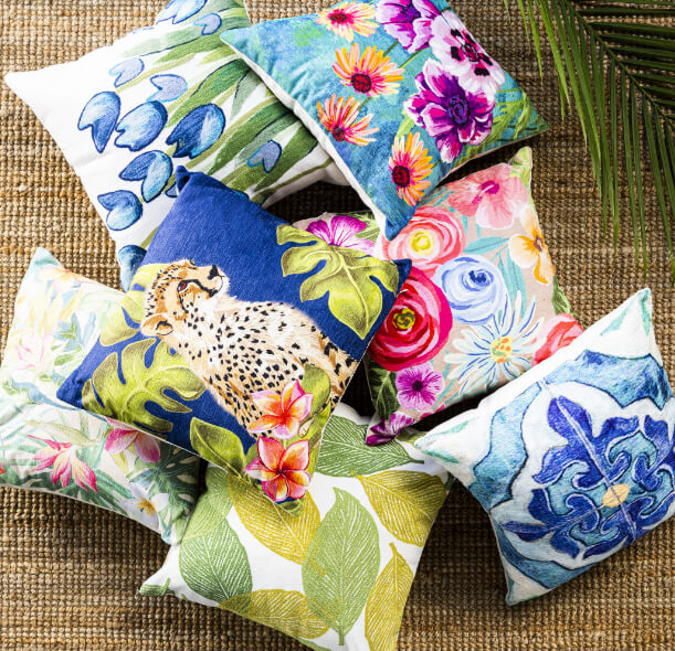 Indoor-Outdoor Pillows Up to 50% Off + Free Shipping*