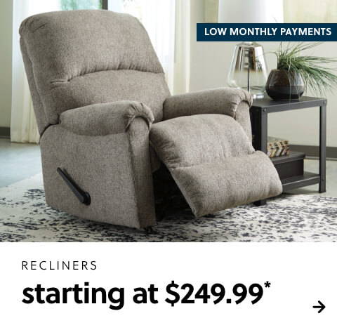 Recliners s/a $179.99
