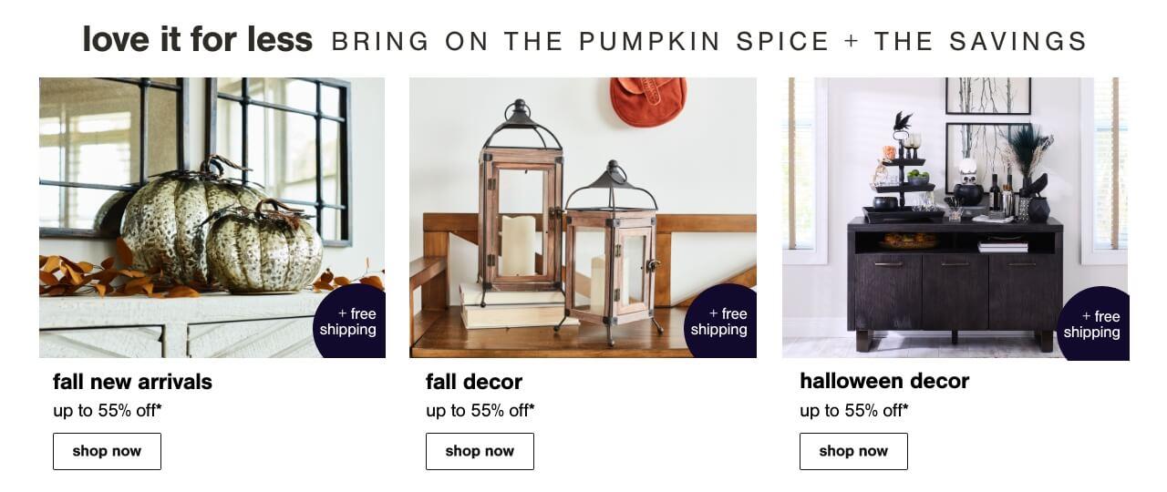 Fall Deals