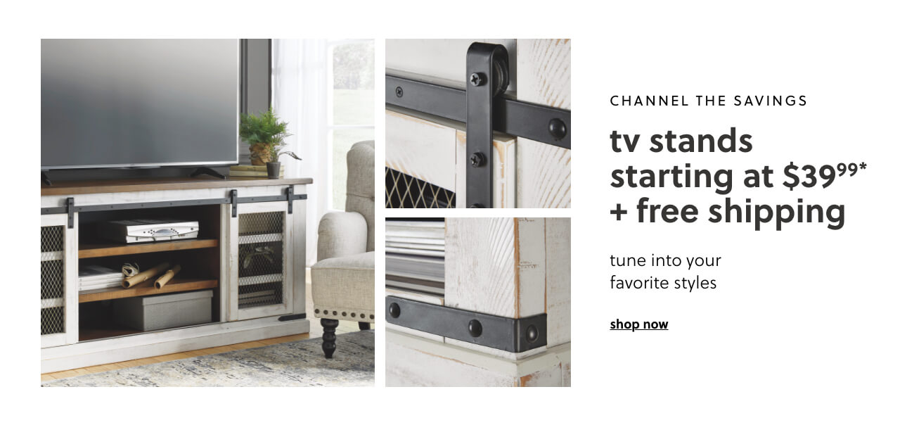 TV Stands s/a $39.99 + Free Shipping