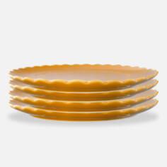 Scalloped Plate Set