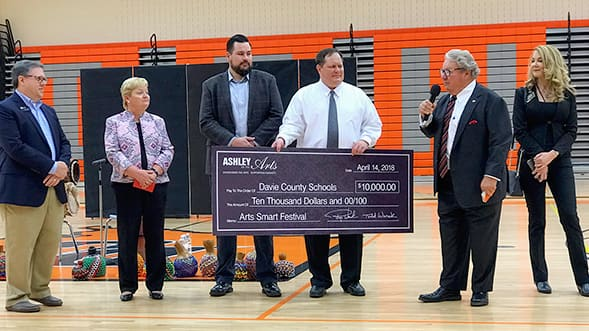 Ashley for the Arts Partners with Davie County Schools for 8th Annual Arts Smart Festival