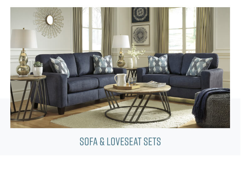 Sofa Unpackt in a box soaf and loveseat sets