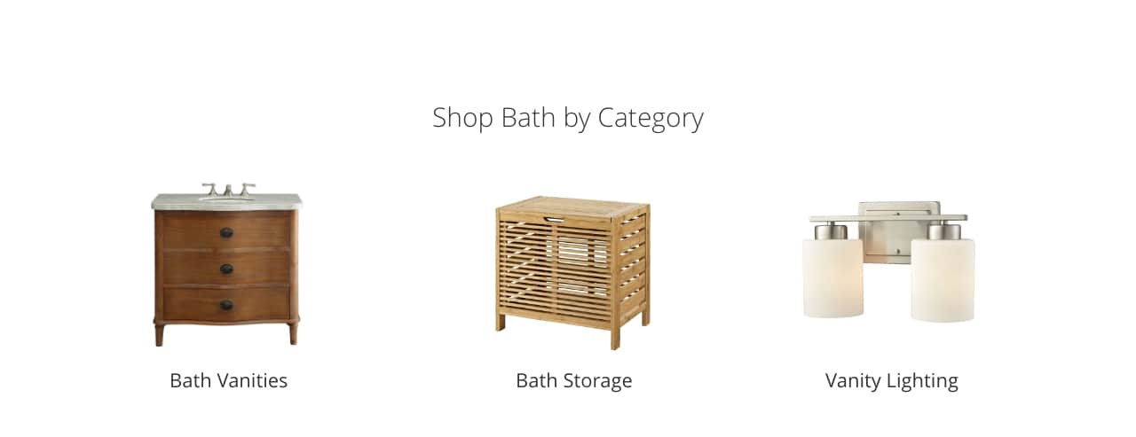 Bath Vanities Storage Vanity Lighting