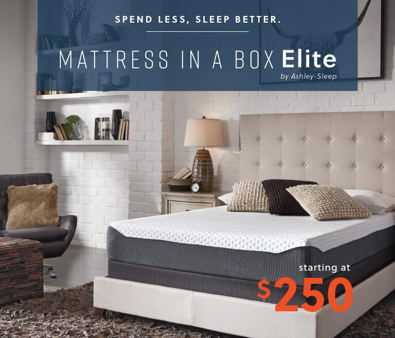 Mattress in a Box Elite by Ashley-Sleep
