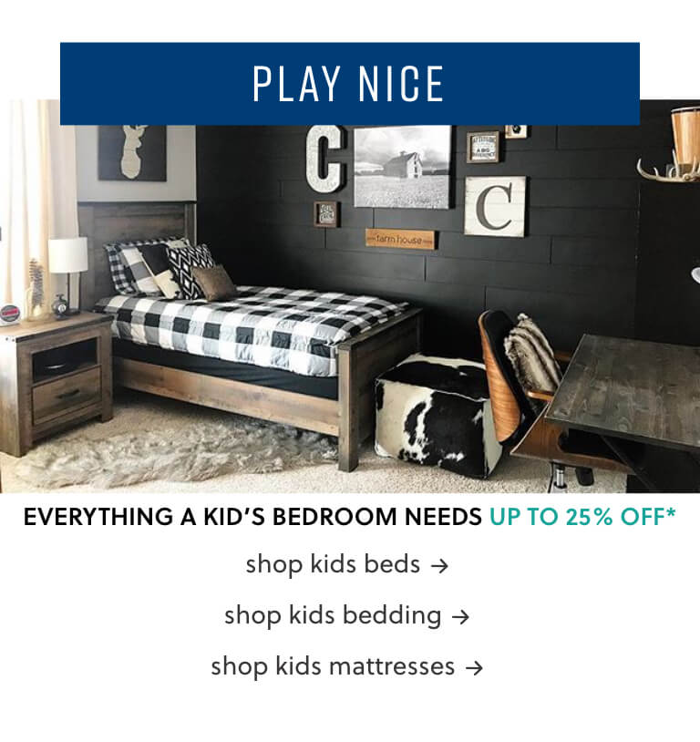 Kids Beds, Kids Bedding, Kids Mattresses