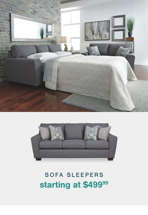 Sofa Sleepers starting at $$499.99