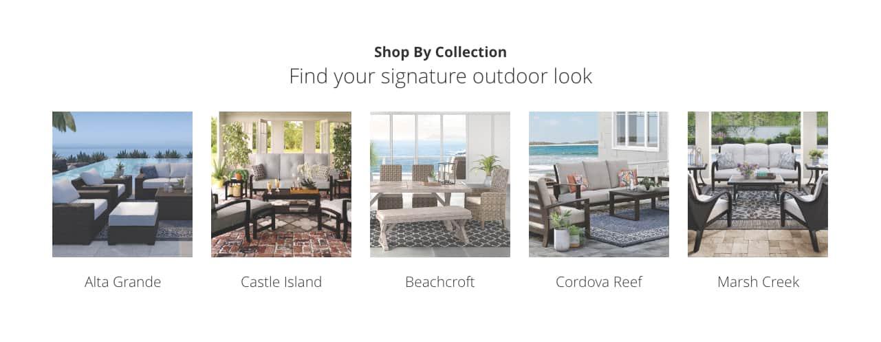 Outdoor Look, Alta Grande, Castle Island, Beachcroft, Cordova Reef, Marsh Creek