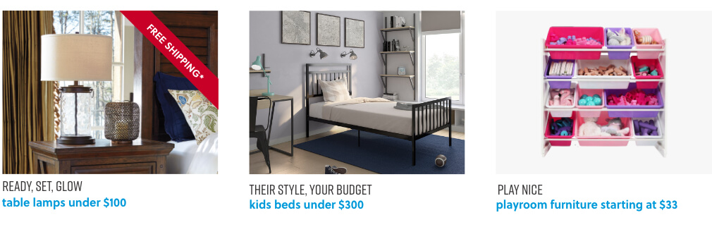 Table Lamps, Kids Beds, Kids Playroom