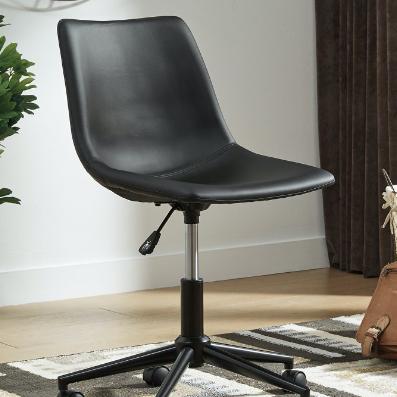 Black Swivel Home Office Desk Chair