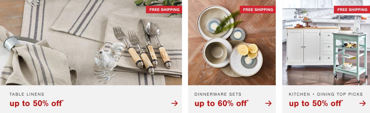 Ktichen and Dining Deals*