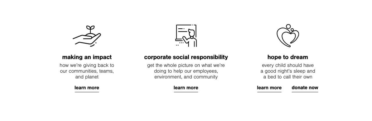 Sustainability, CSR Report, Hope to Dream