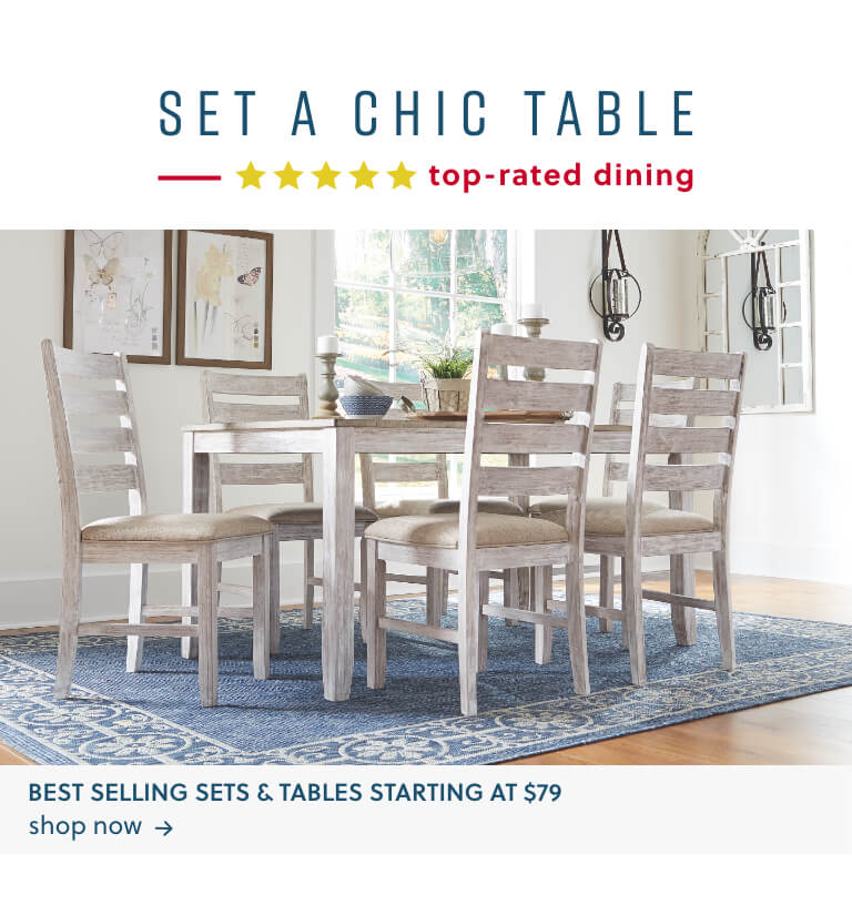 Best Selling Sets and Tables