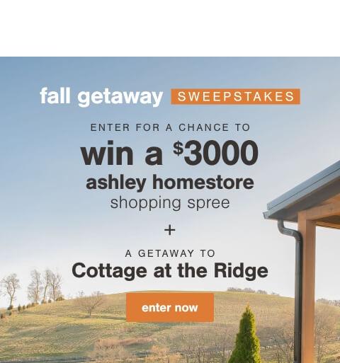 Fall Getaway Sweepstakes