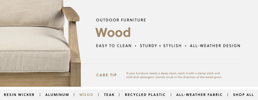 Wooden Outdoor Furniture Ashley Furniture Homestore