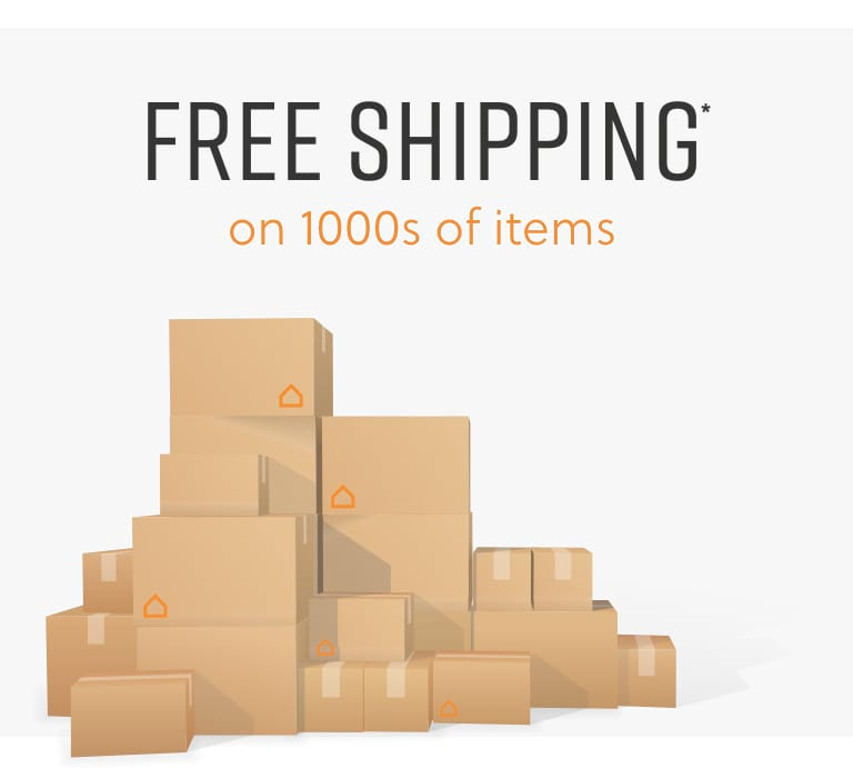Free Shipping on 1000s of items