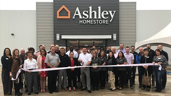 Ashley HomeStore Opens New Store in Corsicana, Texas