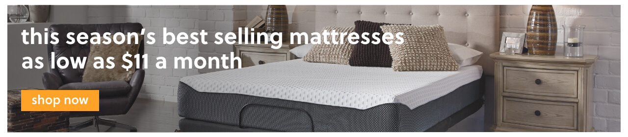 Mattress Month! This Season's Best Selling Mattresses as low as $11 a month