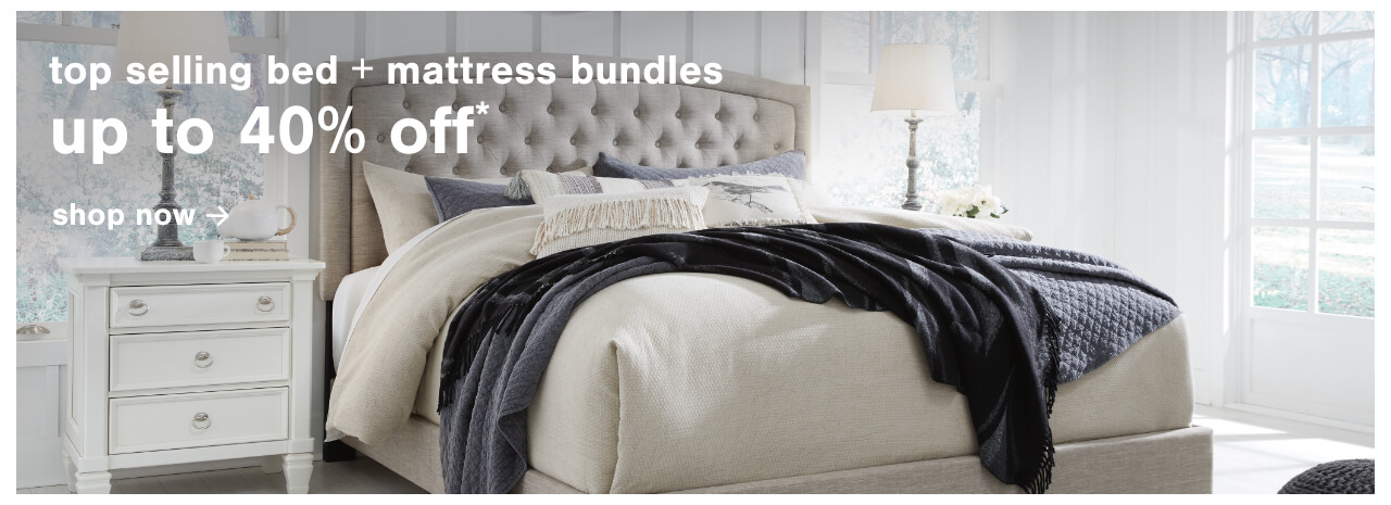Top selling Bed and Mattress Bundles Up to 40% Off