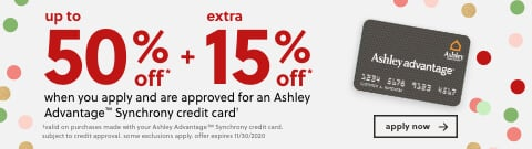 Ashley Furniture HomeStore Financing