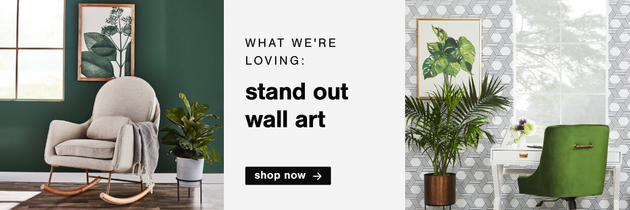 What we are loving: Stand Out Wall Art
