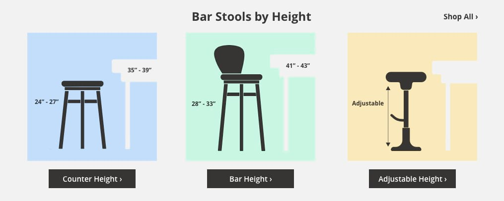Counter Height Bar Stools 23 Quot 28 Quot Ashley Furniture