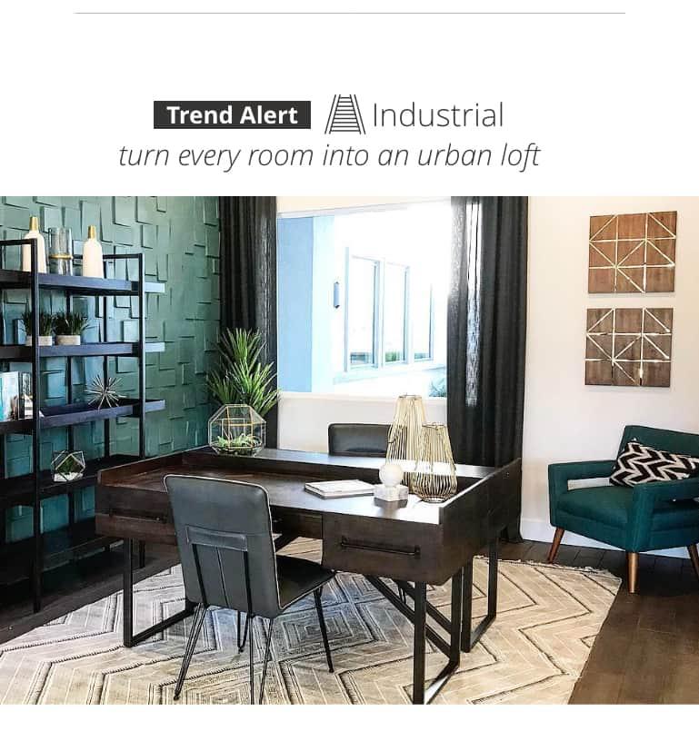 Industrial Home Office urban loft