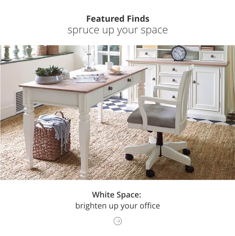 White Home Office Furniture