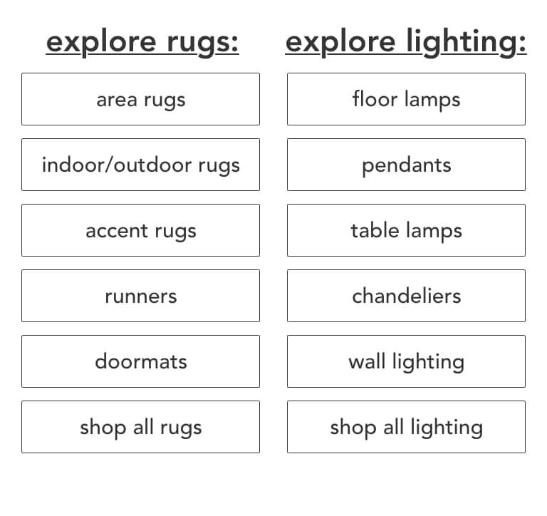 Rugs & Lighting Semi-Annual Sale