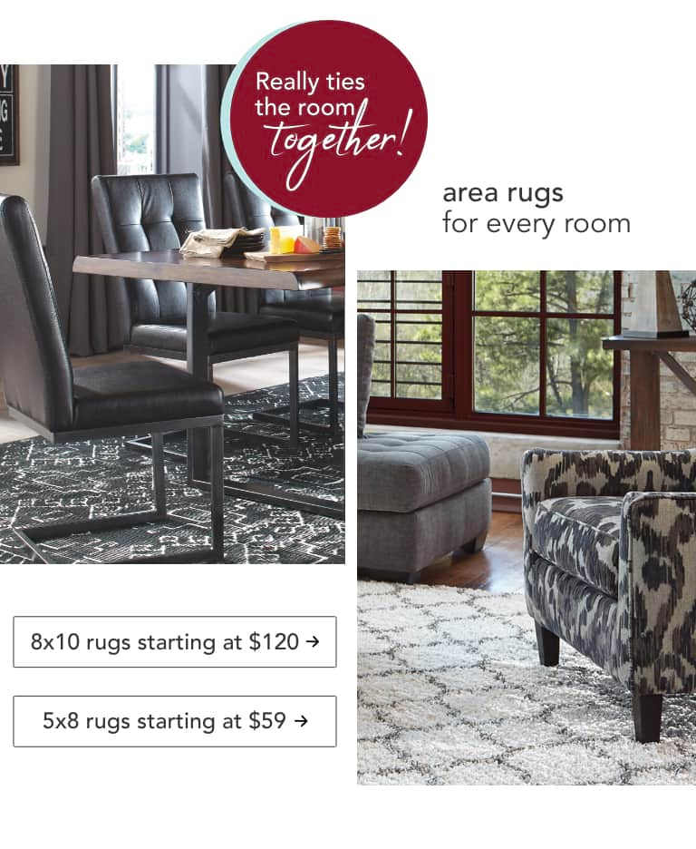Area Rugs for every room